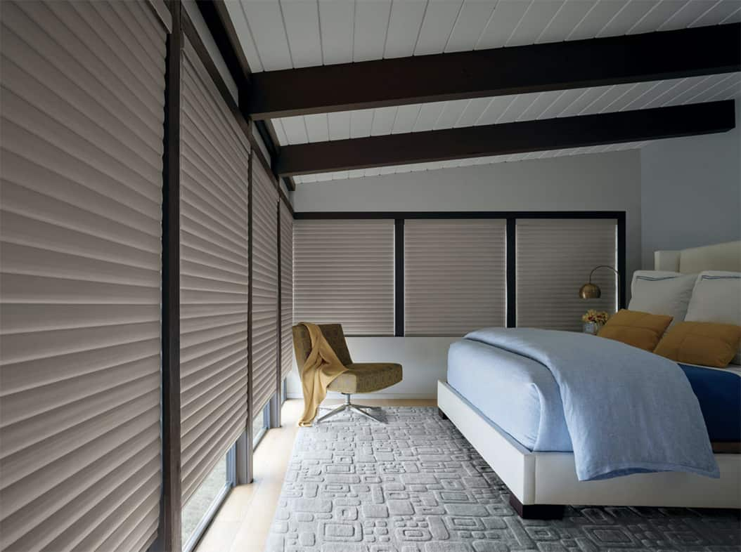 Choosing Blackout Curtains & Shades for Homes Near Westport, Connecticut (CT) like Sonnette Cellular for Bedrooms